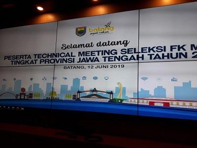 Kabupaten Kebumen ikuti seleksi pertunjukan FK Metra tingkat Provinsi Jawa Tengah putaran ke 3