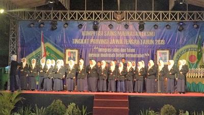 1096 Siswa Madrasah Ikuti KSM Tingkat Provinsi Jawa Tengah