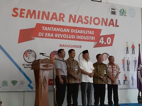 Hari Disabilitas Internasional Ikatan Tunanetra Muslim Indonesia (ITMI)