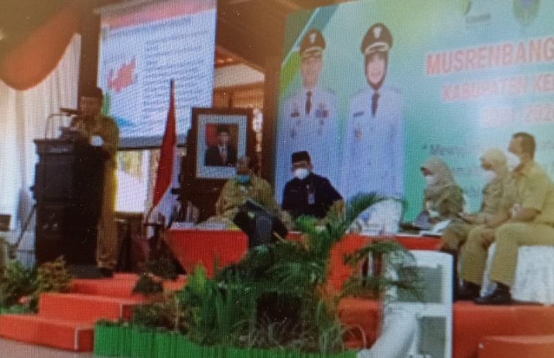 Buka Musrenbang RPJMD 2021-2026 Bupati Arif Sugiyanto Ingatkan Prokes dan PPKM Mikro