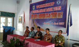 34 Kepala SD/MI Ikut Pelatihan Membatik di SMPN 4 Gombong