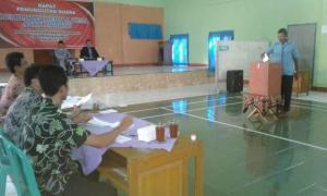 Wakil Bupati KH.Yazid Mahfud Meninjau Pilkades Antar Waktu di Desa Kemukus Gombong
