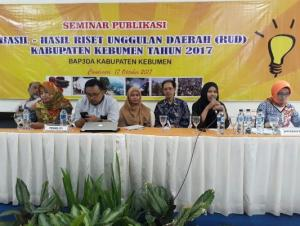 BAP3DA Kebumen Gelar Seminar Publikasi  Bertajuk