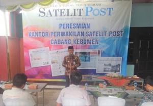 Wabup H. Arif Sugianto Resmikan Kantor Perwakilan Satelit Post di Kebumen