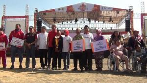 Lomba Desain Batik dan Tenun Warnai Kemeriahan Pesta Rakyat Jateng
