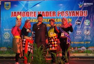 Wakil Bupati Buka Jambore Kader Posyandu 2019