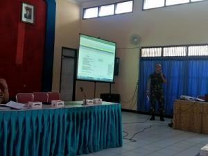 Rapat Koordinasi Mantapkan Pembukaan Pelaksanaan TMMD Reguler 2019