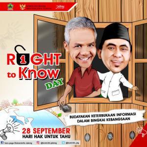 Hari Hak untuk Tahu Sedunia (International Right to Know Day)