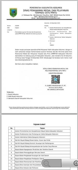 Pelayanan Perijinan DPMPTSP Pindah ke Mall Pelayanan Publik