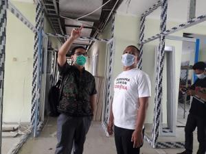Wabup Arif Sugianto Tinjau Pembangunan RS. PKU Gombong