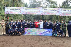 Turnamen Volly Ball Bupati Cup 2021, Arif Sugiyanto Siapkan Hadiah Untuk Juara 1